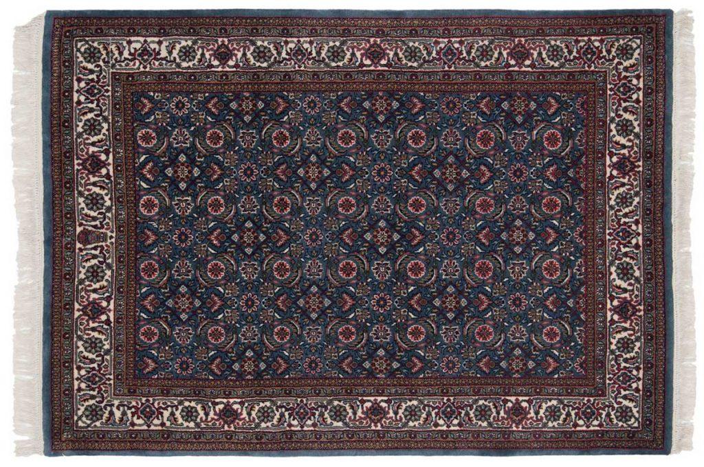 4×6 Herati Blue Oriental Rug 031411