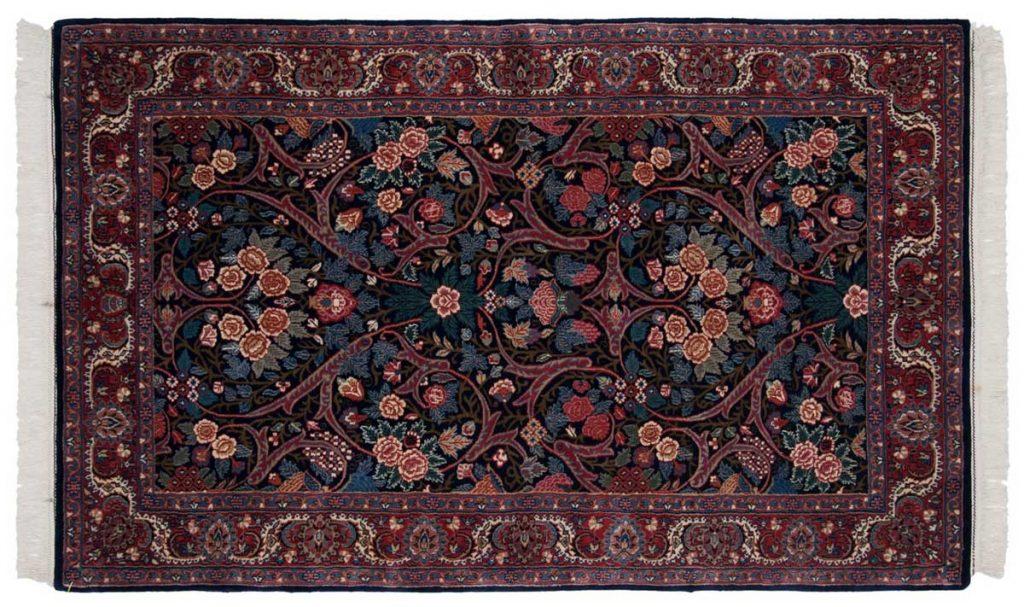 4×7 Kashan Blue Oriental Rug 031120
