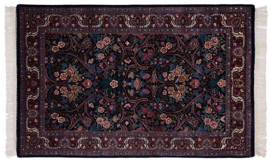 4×7 Kashan Blue Oriental Rug 031456