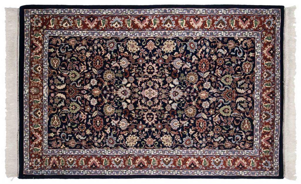 4×7 Kashan Blue Oriental Rug 034082