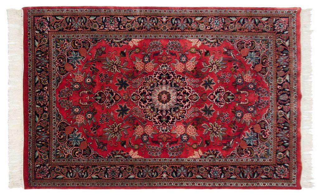 4×7 Kashan Red Oriental Rug 031856