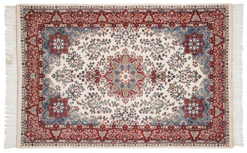 4×7 Kerman Ivory Oriental Rug 024051