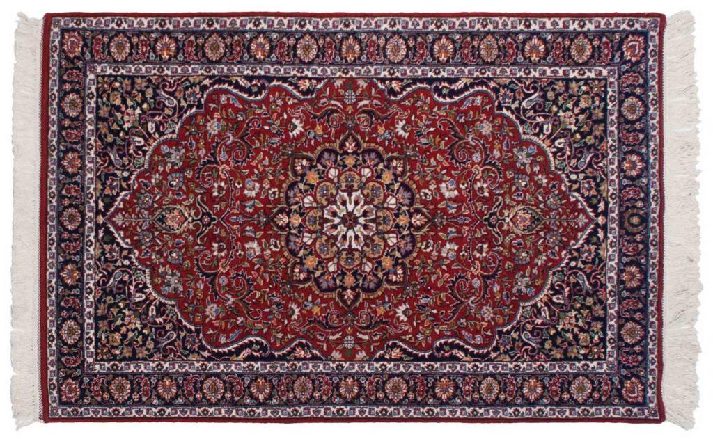 4×7 Khorassan Red Oriental Rug 034219