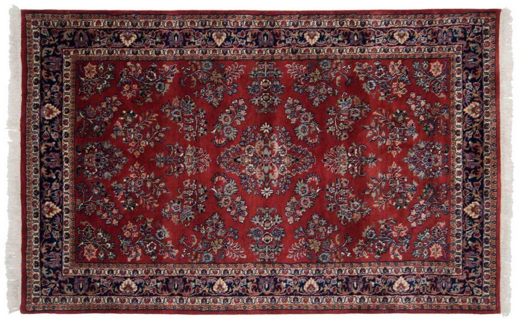 4×7 Sarouk Red Oriental Rug 023889