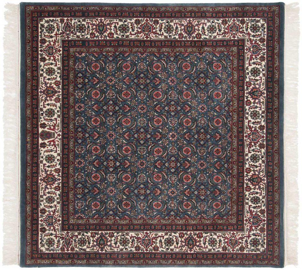 6×6 Herati Blue Oriental Square Rug 031441